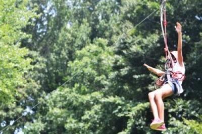 zip line summer camps