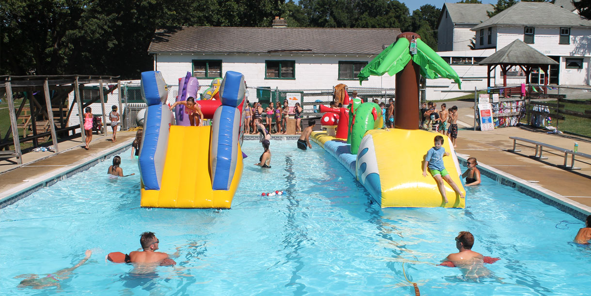summer camps chester county pools