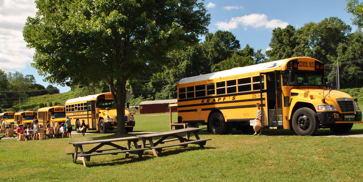 chester county summer camps transportation included