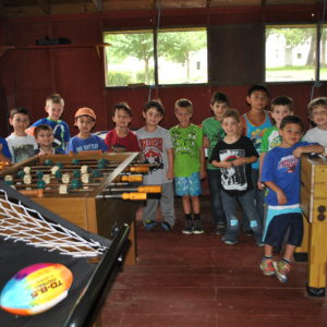 Summer Camp Game Room