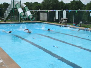swimming summer camps pool