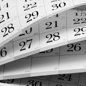 summer camp calendars