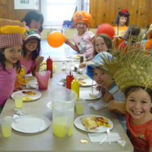 Summer Camp in Chester County lunch