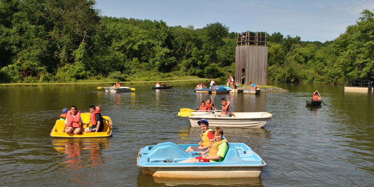 water activities summer camps