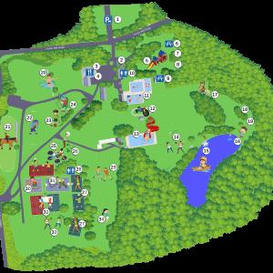 Arrowhead Day Camp Map
